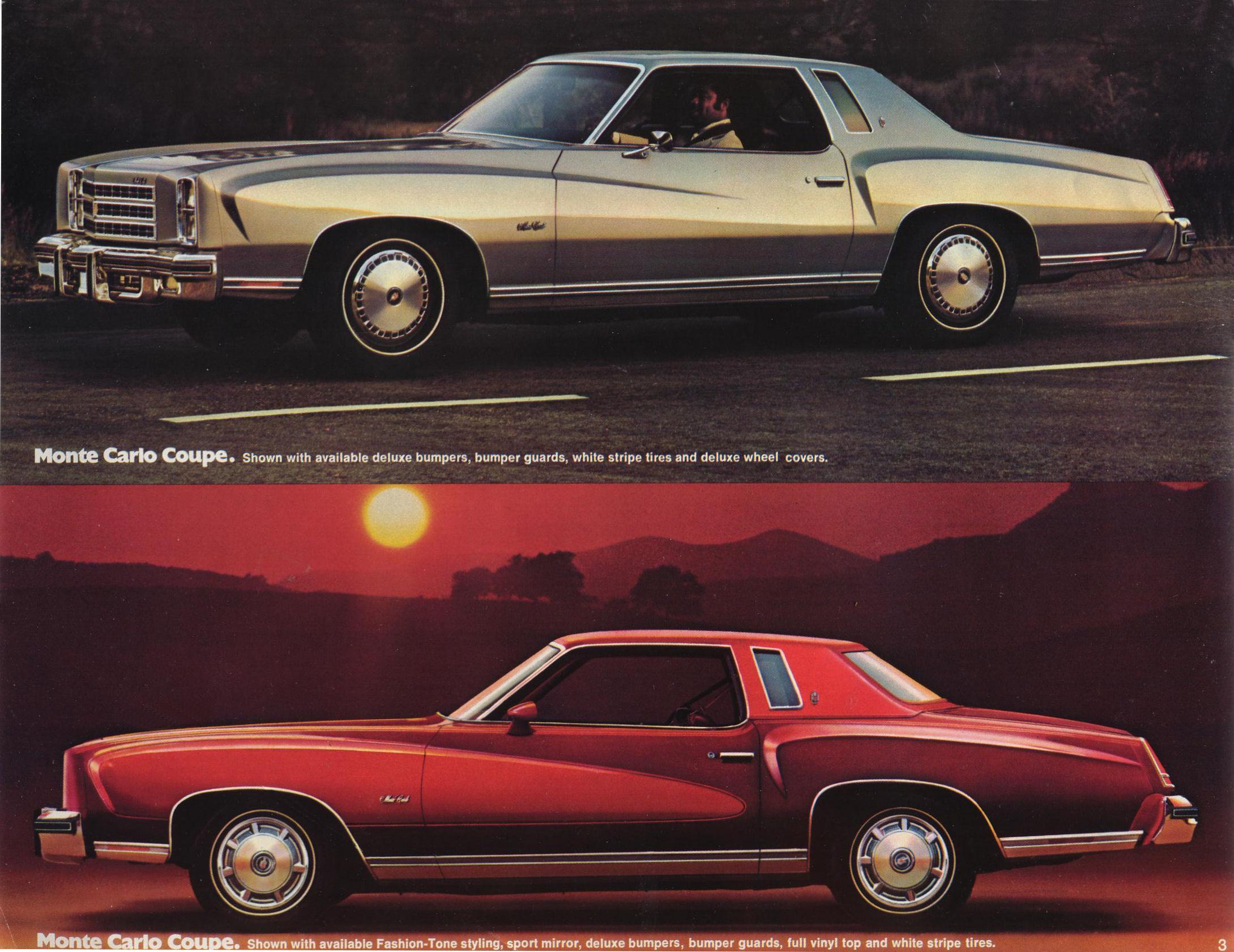1976 Chevrolet Monte Carlo brochure