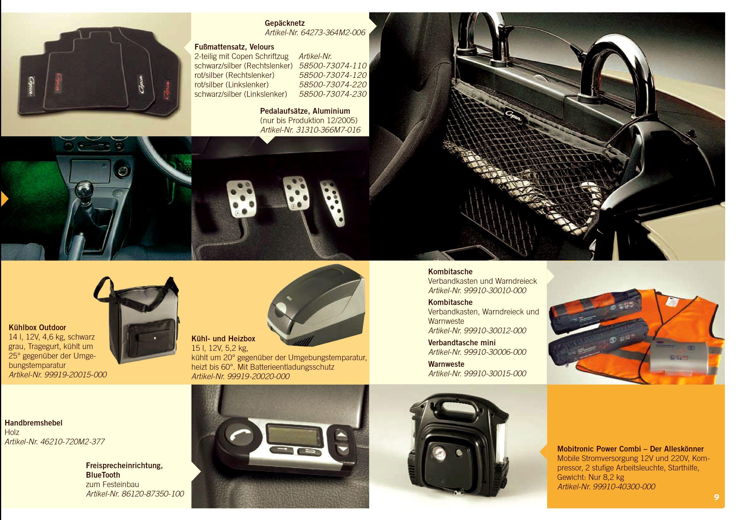 2006 Daihatsu Copen Brochure