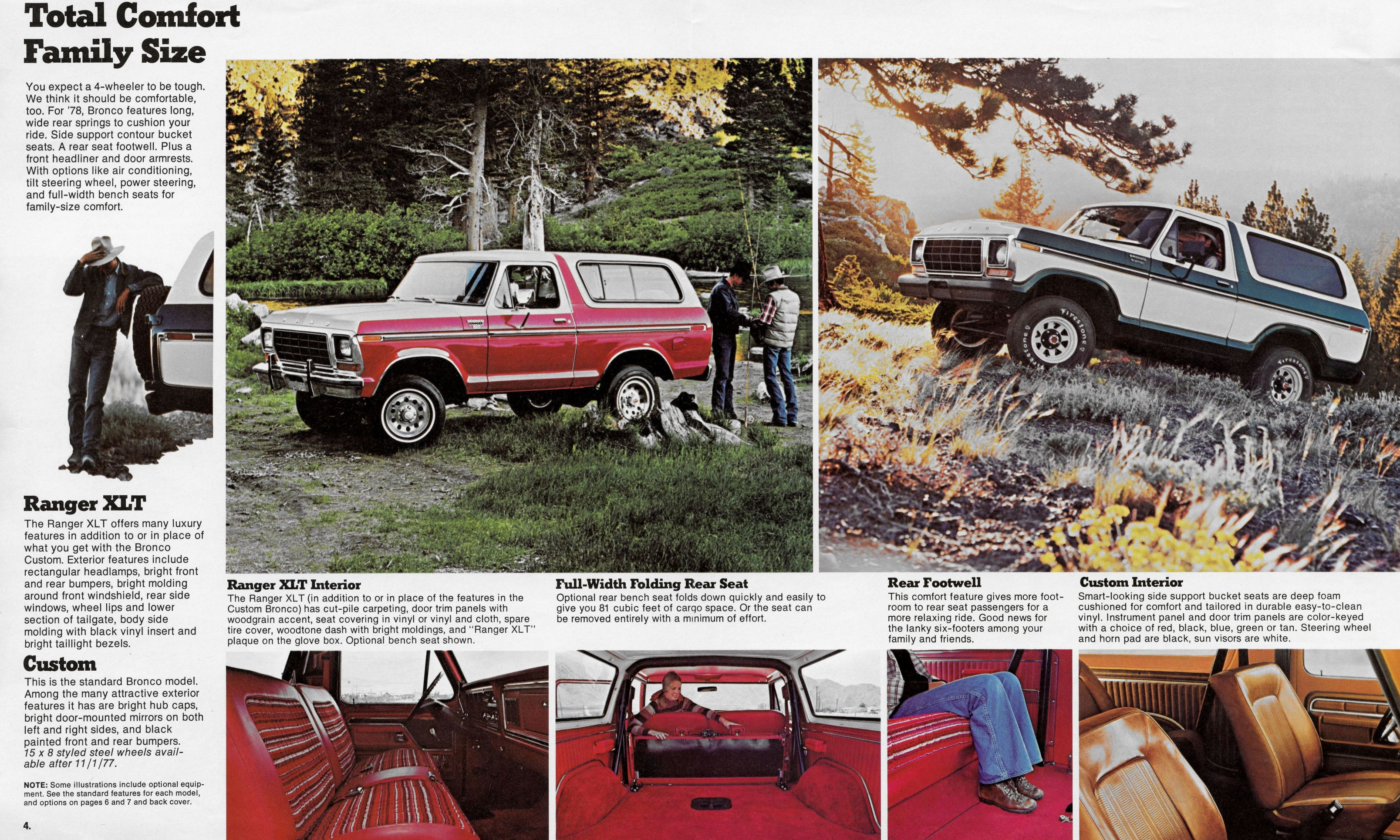 1978 Ford Bronco Brochure