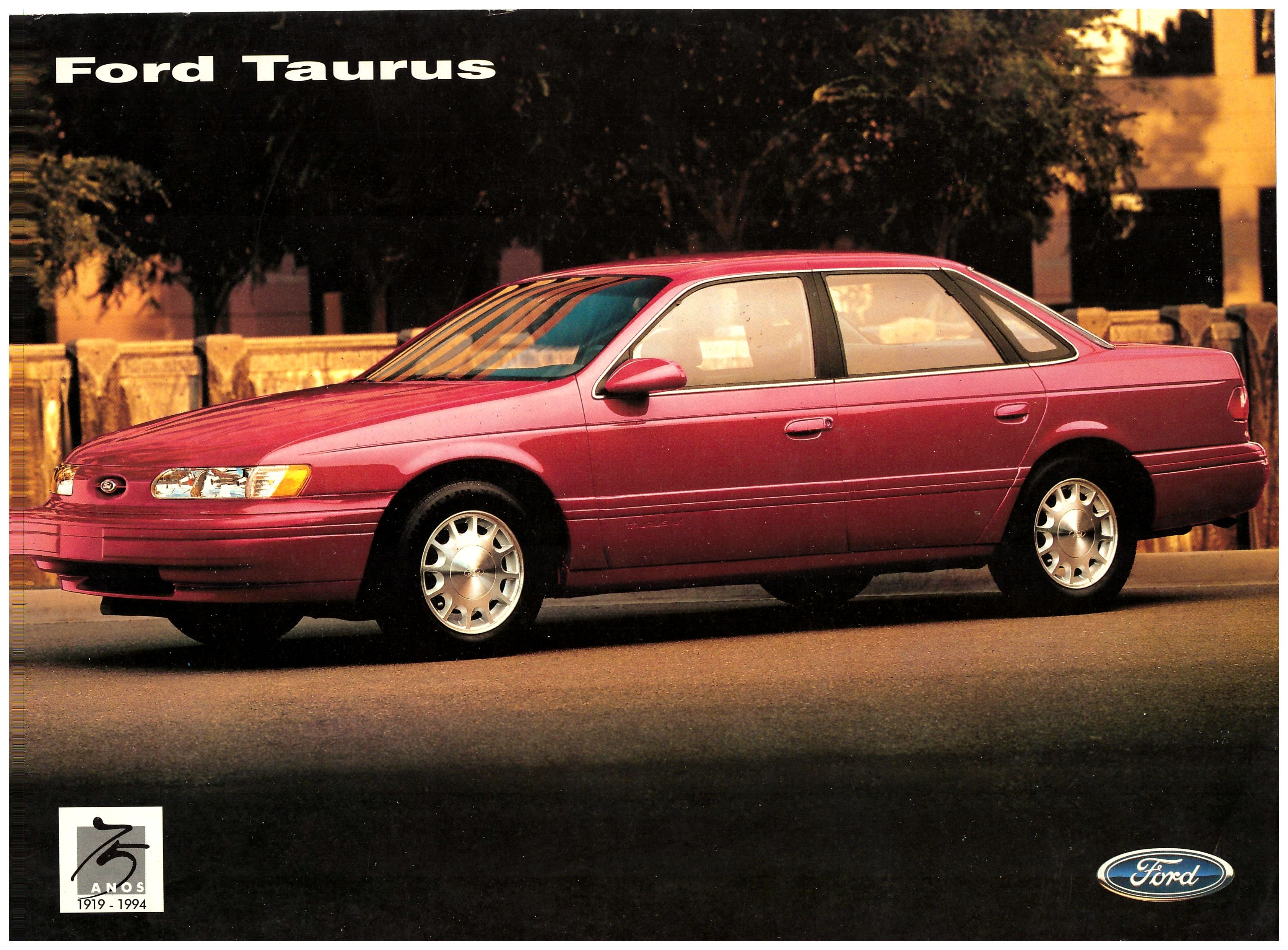 1995 ford taurus brochure